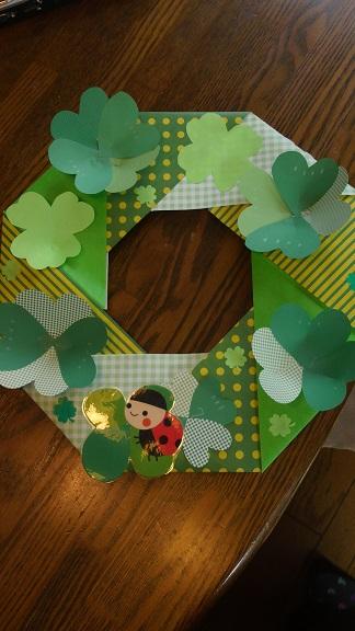 すべての折り紙 両面折り紙 折り方 : の リース と 同じ 折り 方 で ...