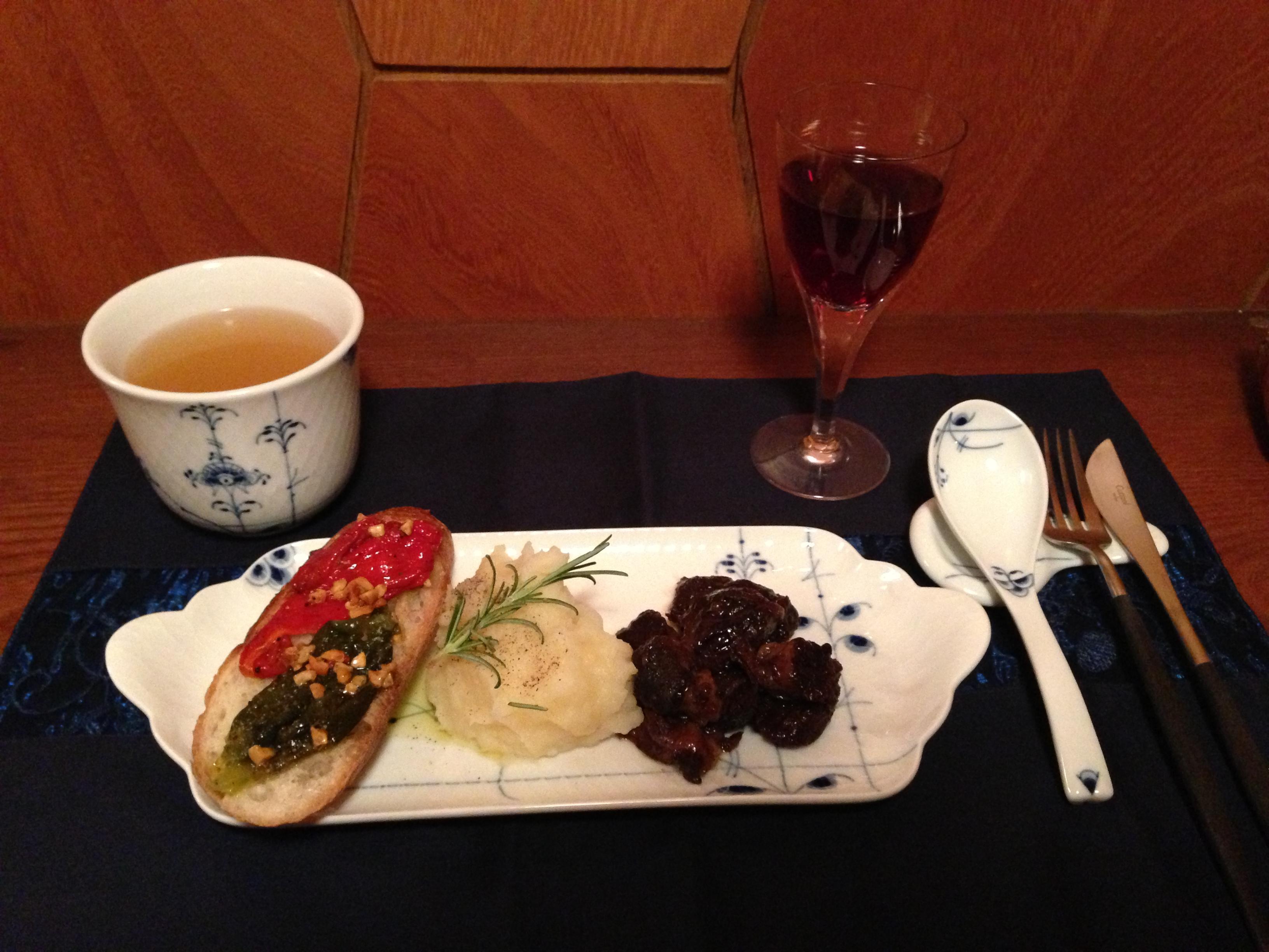 牛肉の赤ワイン煮1