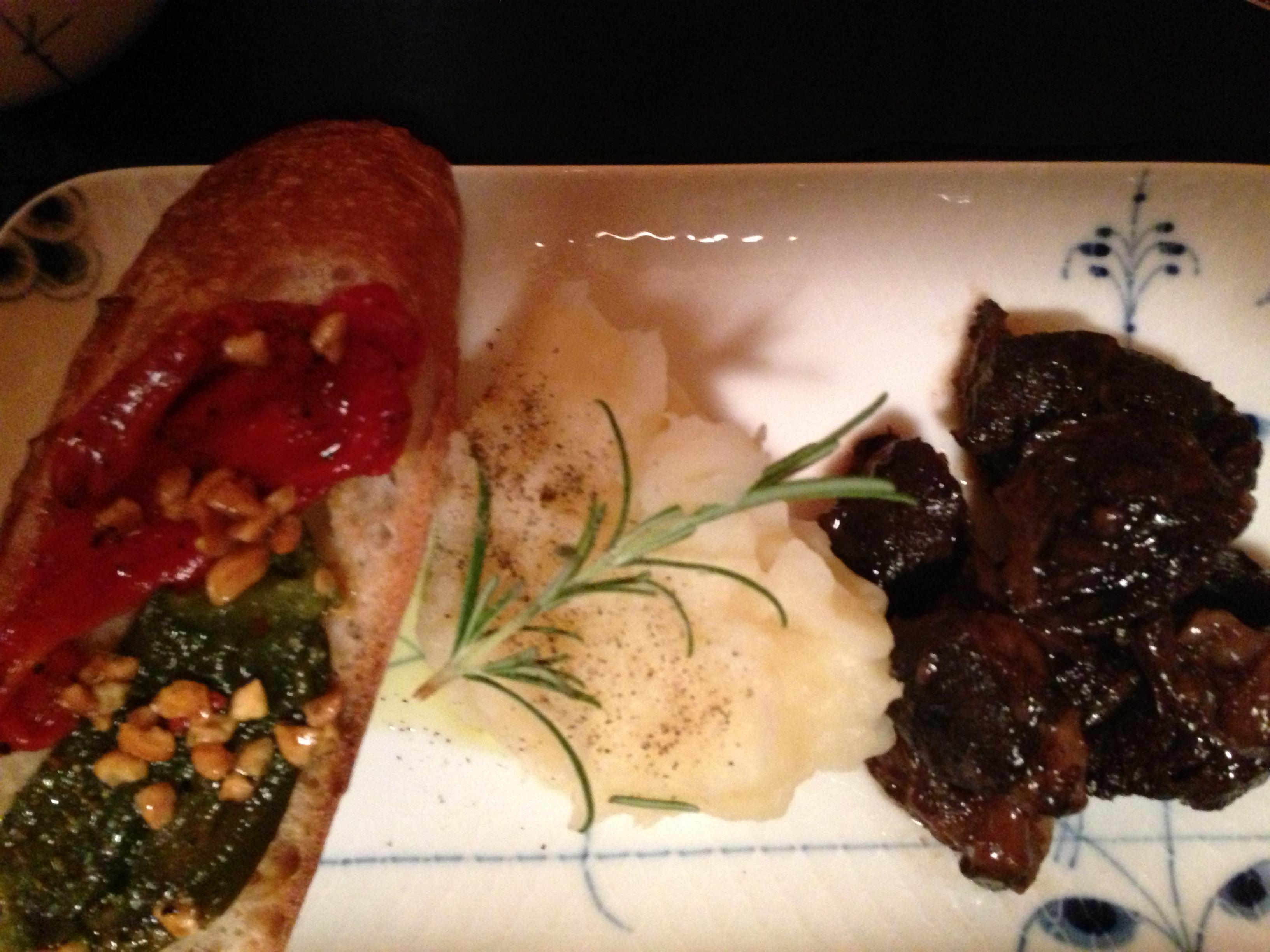 牛肉の赤ワイン煮3