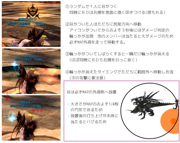 BD4Pギミック目の設置