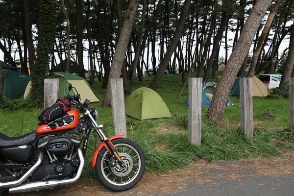 象潟海岸キャンプ場
