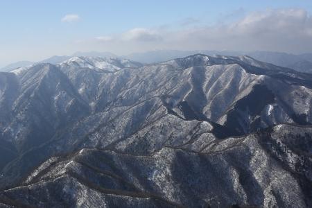 藤原岳から鈴鹿山脈 ちょいあっぷ