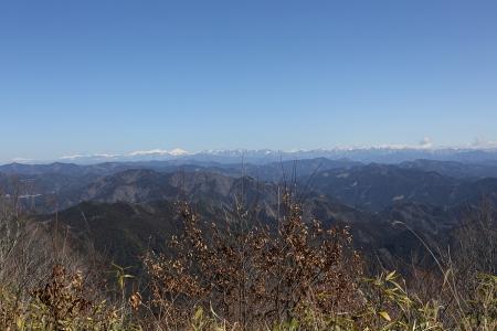 大鈴山から南アを望む