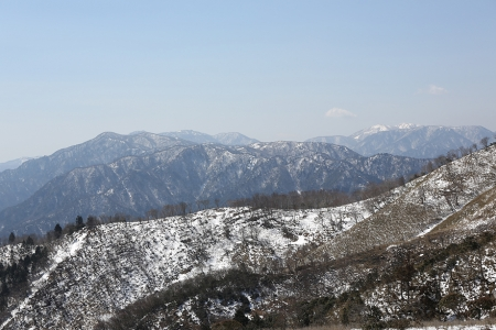 釈迦ヶ岳もバッチリ見える。