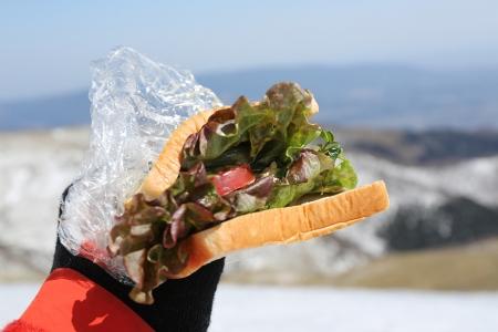 今日は特性サンドイッチ