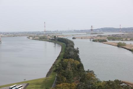 タワーから千本松原