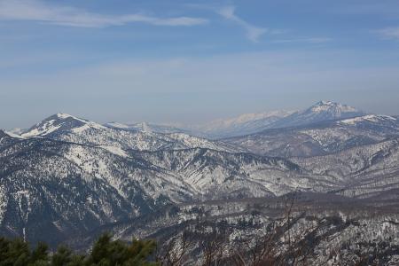 武尊山から至仏山と燧ケ岳