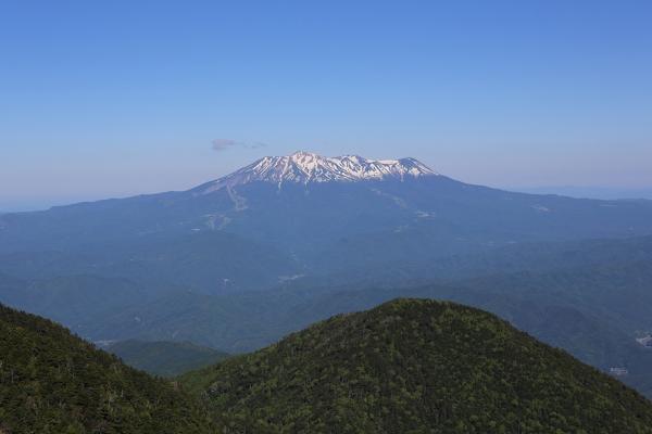見晴らし台からは御嶽が最高だった
