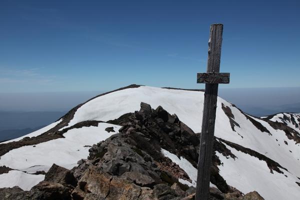 剣ヶ峰初登頂