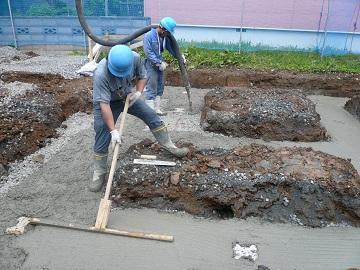 捨てコンクリート | 吉田泰士建...