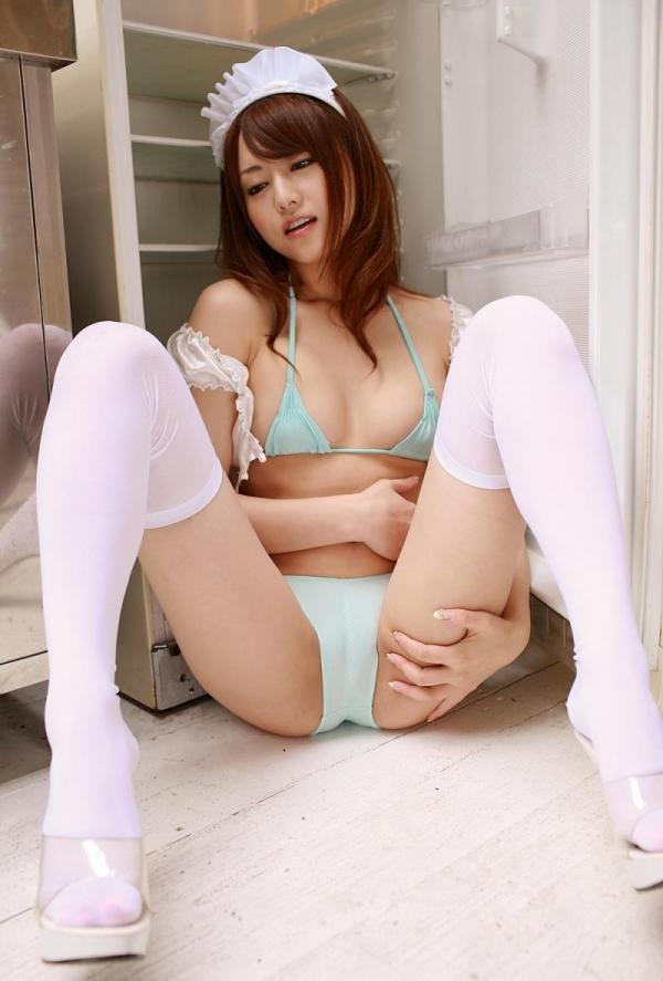 吉沢明歩 ピンクのメイドコスプレエロ画像45枚の44枚目