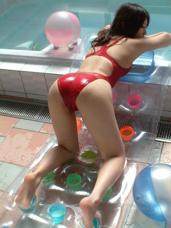 有村千佳 水着のまんすじや透けた乳首がエッチなAV女優エロ画像30a.jpg