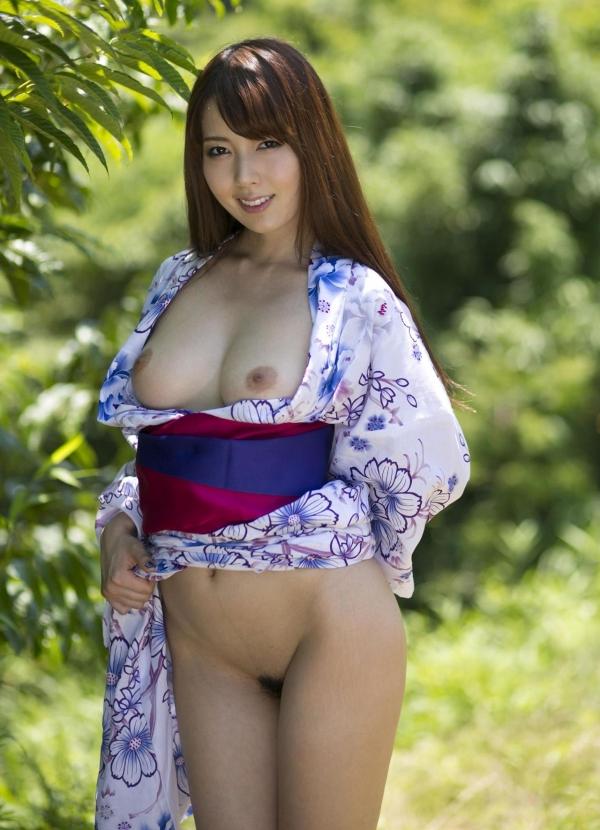 波多野結衣|浴衣を脱いで全裸になるAV女優の着エロ&ヌード画像12a.jpg