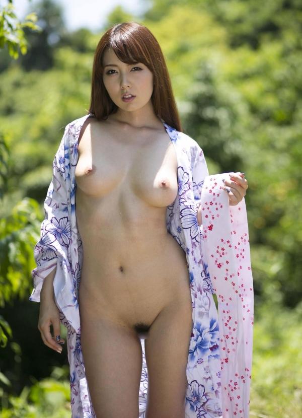 波多野結衣|浴衣を脱いで全裸になるAV女優の着エロ&ヌード画像17a.jpg