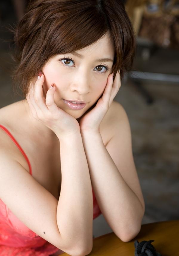奥田咲 Hカップもっちり巨乳の美女ヌード画像