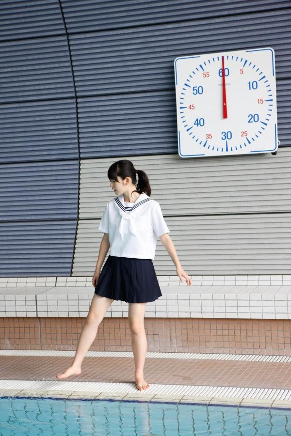 鈴木愛理|ハロープロジェクト℃-uteのアイドル JK制服コスプレと水着 画像a003a.jpg