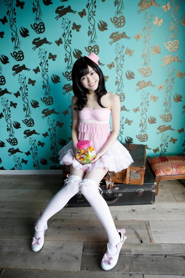 渡辺麻友 AKB48まゆゆのかわいいワンピース&ニーハイ姿 画像ードのAV女優エロ画像31.jpg