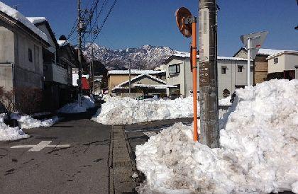日光雪景色1