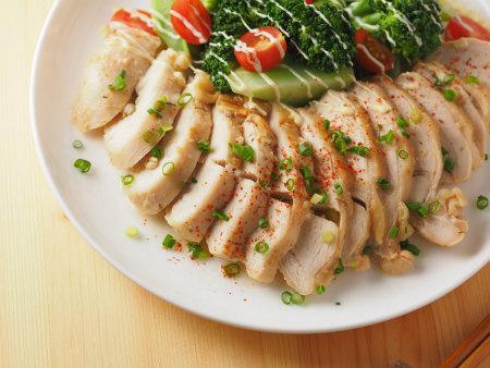 鶏むね肉のはちみつ味噌蒸し01