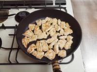 鶏むね肉とズッキーニの炒め物32