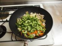 夏野菜と鶏ひき肉のオイスター28