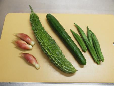 夏野菜の酢漬け生ハム巻き01