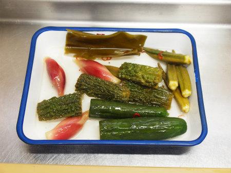 夏野菜の酢漬け生ハム巻き42