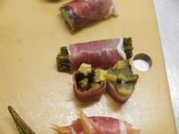 夏野菜の酢漬け生ハム巻き49