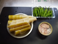 淡竹と鯖缶の煮物19