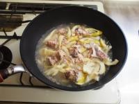 淡竹と鯖缶の煮物22