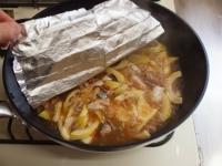 淡竹と鯖缶の煮物26