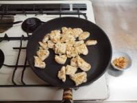 鶏むね肉と夏野菜のガーリック44