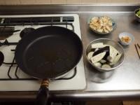 鶏むね肉と夏野菜のガーリック46