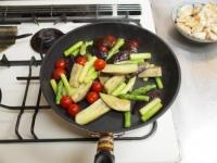 鶏むね肉と夏野菜のガーリック50
