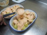 鶏とじゃがいもの明太マヨグラタ18
