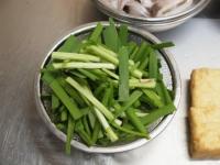 イカと厚揚げのキムチ炒め30