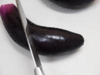 蒸し鶏と茄子の彩り夏野菜添24