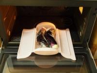 蒸し鶏と茄子の彩り夏野菜添28