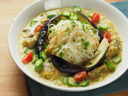 スープカレー素麺34
