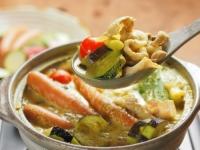 夏野菜豆乳カレー鍋22