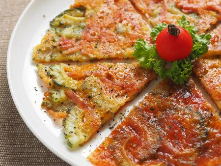 ゴーヤのチーズ焼き11