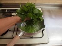 ささみと里芋、三つ葉の和え物30