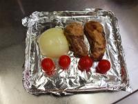 スペアリブと玉ねぎのトースター31