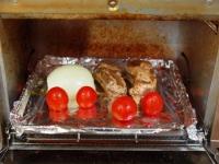 スペアリブと玉ねぎのトースター32