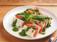 豆腐カプレーゼ・バジルソース01