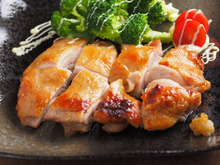 鶏もも肉柚子胡椒焼き06