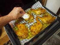 チキンレッグでタンドリーチキン42