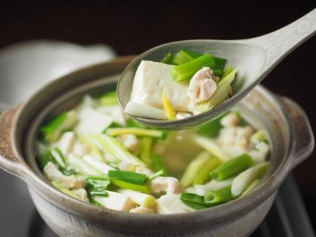鶏皮湯豆腐18