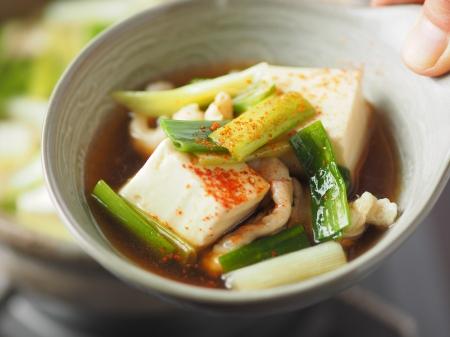 鶏皮湯豆腐23