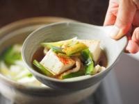 鶏皮湯豆腐24